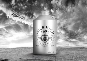 1000ml Mile High Flasche
