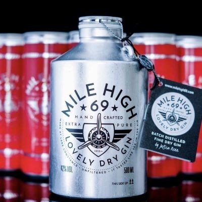 "MILE HIGH 69® - Gin & Tonic Set ""Red love"""