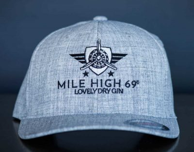 MILE HIGH 69® - Cap - round grey