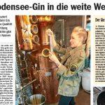 Mit Bodensee-Gin in die weite Welt