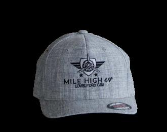 Cap – round grey